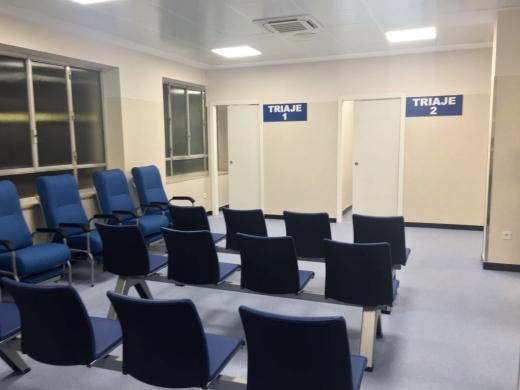 Nuevas salas de Triaje de Urgencias del Hospital Regional