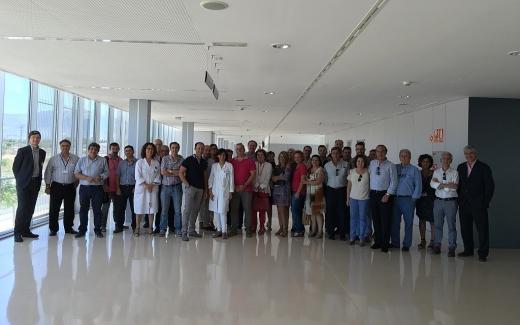 Visita profesionales del Hospital Universitario Virgen de la Victoria