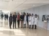 La delegada de Salud, junto al presidente de la Junta Provincial de la AECC