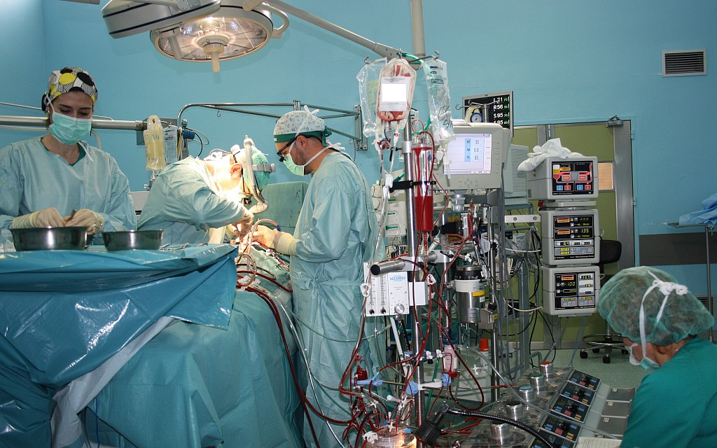 La operación la desaparición de la vena en los pies