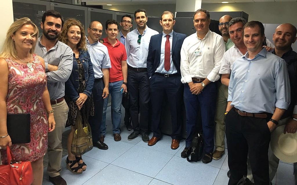 Visita de los subdirectores provinciales de tecnolog a de for Juan lucas electrodomesticos malaga