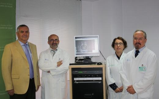 Presentación de resultados de los pacientes tratados con braquiterapia