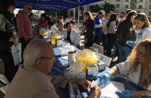 Los hospitales públicos de Málaga se suman a la campaña de concienciación ciudad