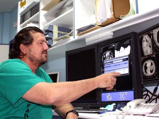 El doctor Alberto Martín Palanca