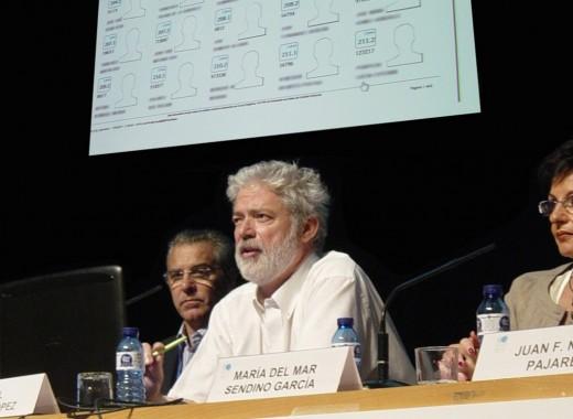 Rafael del Pino durante la presentación del Sistema de Identificación Inequívoca
