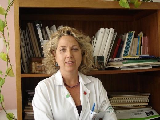 Elvira Montañez, coordinadora de la unidad de rodilla