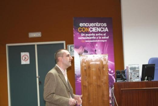 Intervención de Guillermo Alcaín en Encuentros Conciencia sobre Crohn