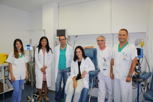 Equipo de profesionales de Oncología Médica