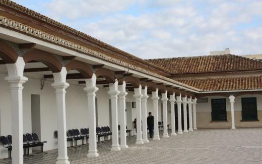 Soportales del Hospital Marítimo de Torremolinos