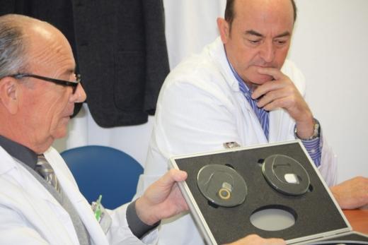 Especialistas en otorrinolaringología del hospital Virgen de la Victoria