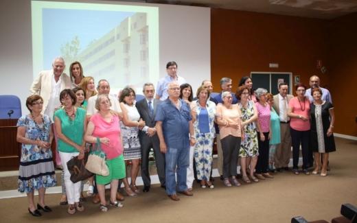 Acto Homenaje personal Jubilado Hospitales Públicos de Málaga