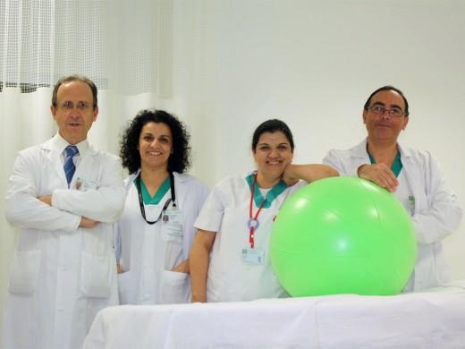 Luis Cóndor, Carmen Hijano, Toñi Arenas y Antonio González