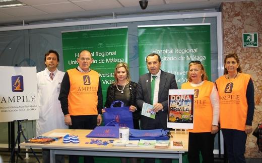 La Junta de Andalucía la lucha contra la leucemia