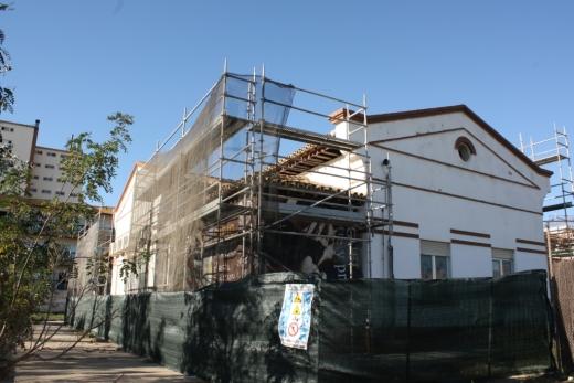 Obras en el Hospital Marítimo de Torremolinos