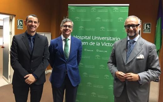 Unos 300 profesionales del Hospital Virgen de la Victoria