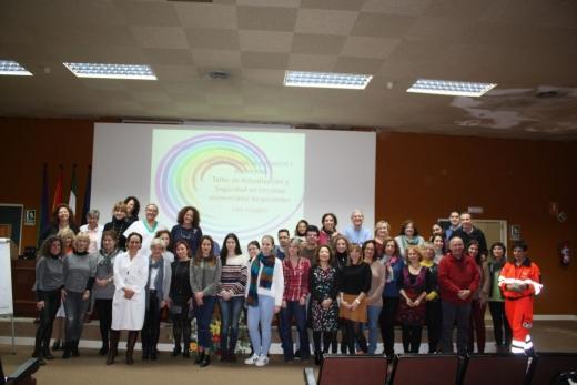 Grupo de participantes en encuentro sobre continuidad de cuidados en nutrición