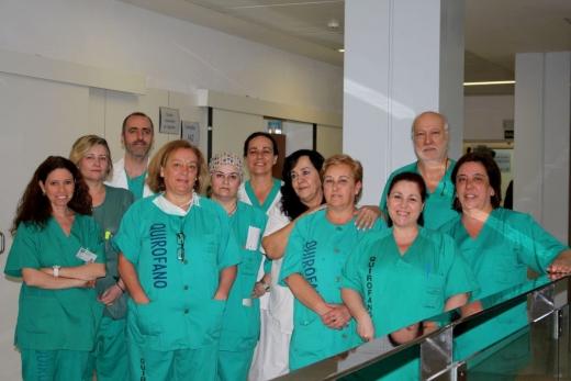 Equipo de Profesionales de Aparato Digestivo para la realización de Endoscopias