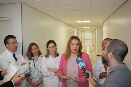 Visita de Ana Isabel González, delegada de Igualdad, Salud y Políticas Sociales