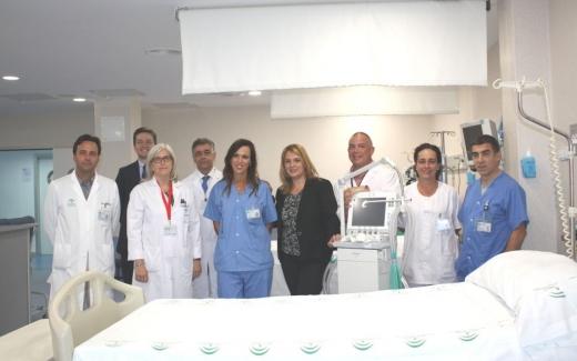 La delegada de Salud visita las mejoras llevadas a cabo en las áreas de cuidados