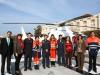 La Delegación también dio ayer por inaugurada la propia helisuperficie