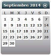 Calendario laboral 2014