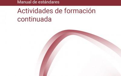 La Agencia de Calidad Sanitaria de Andalucía publica el nuevo manual de acreditación de actividades de formación continuada