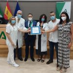 Entrega certificación UGC Farmacia AGS Serranía Málaga