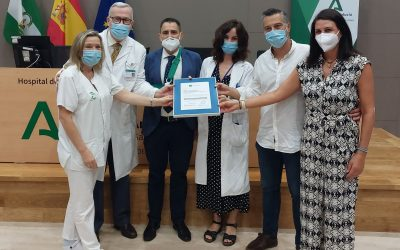 La unidad de Farmacia del Área de Gestión Sanitaria Serranía de Málaga recibe la certificación de la Agencia de Calidad Sanitaria de Andalucía
