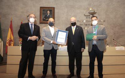 La Agencia de Calidad Sanitaria de Andalucía renueva la certificación de la Unidad de Formación del Colegio de Farmacéuticos