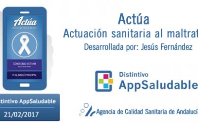 Una aplicación móvil que muestra al personal sanitario cómo actuar ante un caso de violencia de género consigue el Distintivo Appsaludable