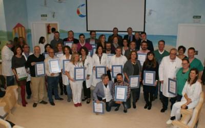 La calidad de los servicios sanitarios de la provincia de Cádiz, reconocida con cerca de una treintena de nuevas acreditaciones