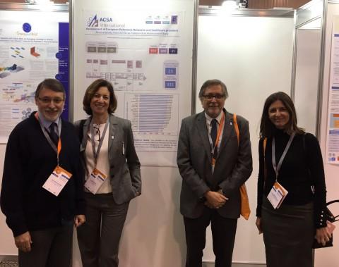El equipo de la ACSA en la 3ª Conferencia de ERNs