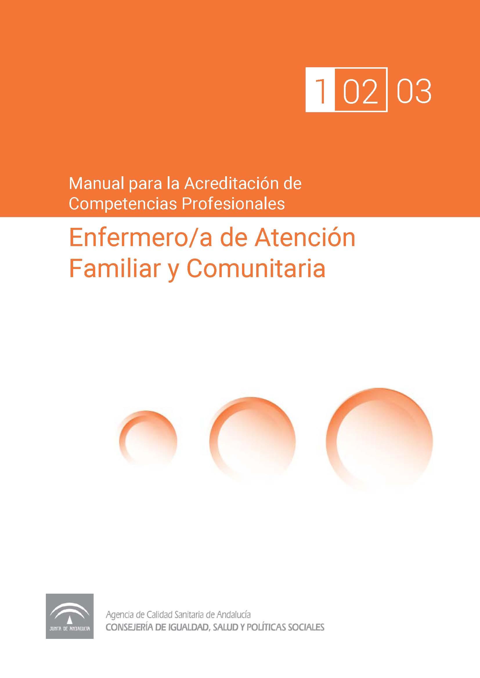 Manual de competencias profesionales del/de la Enfermero/a de Atención Familiar y Comunitaria