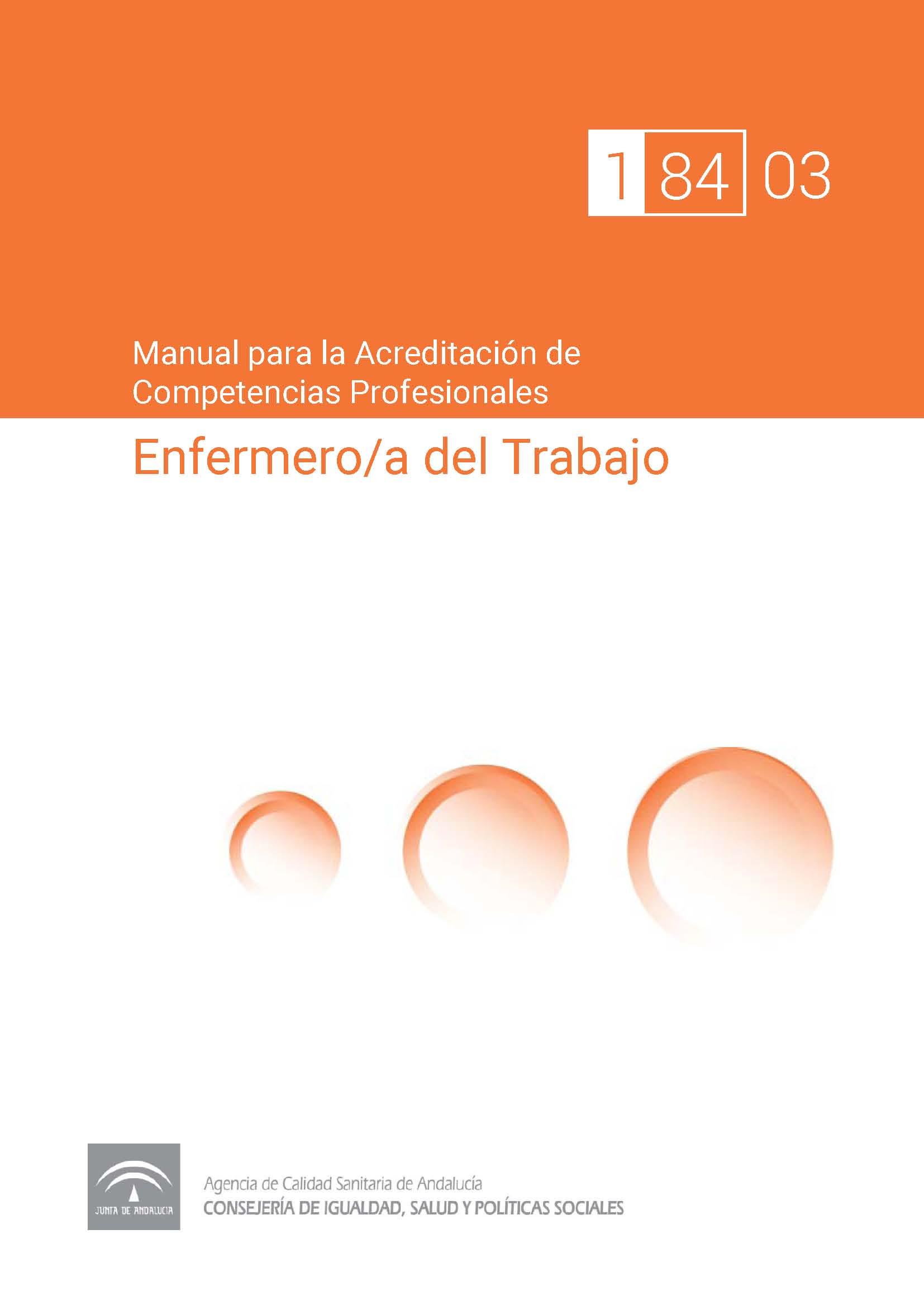Manual de competencias profesionales del/de la Enfermera/o del Trabajo
