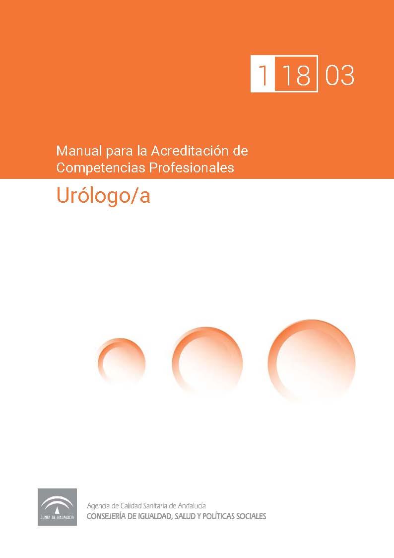 Manual de competencias profesionales del/de la Urólogo/a