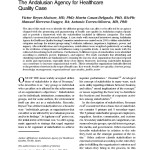 Stakeholder analysis: the Andalusian Agency for Healthcare Quality case