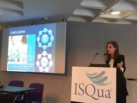 La Agencia de Calidad Sanitaria de anda Andalucía en el 34º congreso de la ISQua en Londres