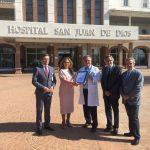 Entrega certificado calidad Hospital San Juan de Dios Córdoba