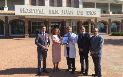 El Hospital San Juan de Dios de Córdoba consigue su tercera certificación con la Agencia de Calidad Sanitaria de Andalucía