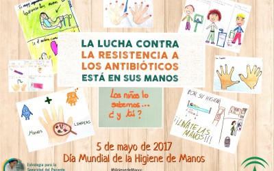 Profesionales y ciudadanos se movilizan contra la resistencia a los antibióticos en el Día Mundial de la Higiene de manos