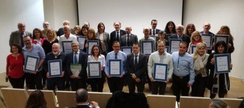Entrega certificación ACSA 21 unidades y centros en Granada