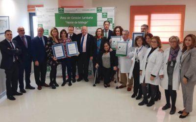Antequera Centro y Antequera Estación primeros centros de salud de Andalucía en conseguir el nivel óptimo de calidad