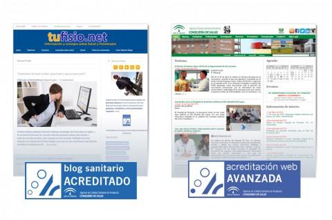 Certificación blog Tufisio.ney y web de la Agencia Sanitaria Poniente