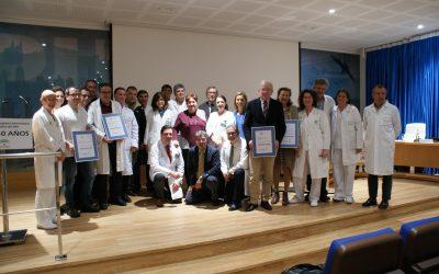 El Hospital Puerta del Mar renueva su apuesta por la calidad con la certificación de siete unidades de gestión clínica
