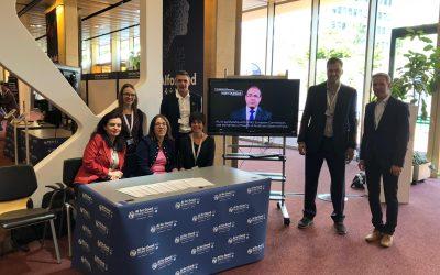 """Andalucía participa en la """"Cumbre Mundial sobre Inteligencia Artificial para el Bien Común"""" en Ginebra, difundiendo el proyecto europeo mHealthHub sobre salud móvil"""