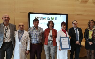 La Unidad de Formación del Área Sanitaria Serranía de Málaga recibe el sello de calidad de la Consejería de Salud y Familias