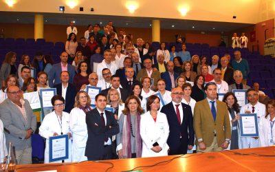 Córdoba consolida la calidad de sus servicios sanitarios con la certificación de 27 centros y unidades