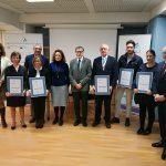 Entrega certificación 6 centros Sevilla