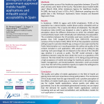 ISQUA18-2423 Willingness to Pay for Government-Approved Mobile Health Applications and mHealth Social Acceptability In Spain