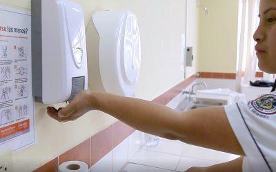 Andalucía exporta a Latinoamérica su modelo de promoción de la higiene de manos en el ámbito sanitario con el distintivo 'Manos Seguras'